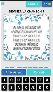 DEVINEZ A QUI LA CHANSON! screenshot 3