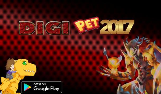 Digi Pet Run Juego poster