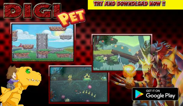 Digi Pet Run Juego apk screenshot