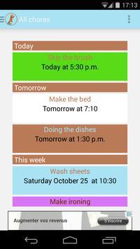 Chore Reminder screenshot 3