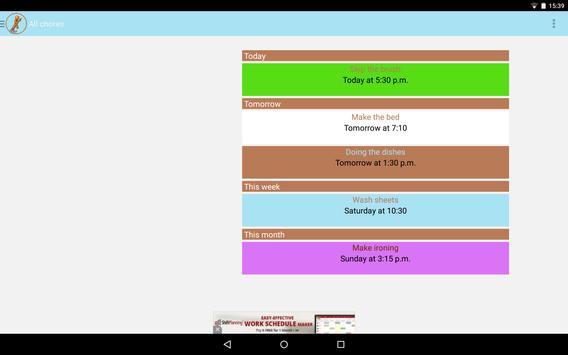 Chore Reminder screenshot 11