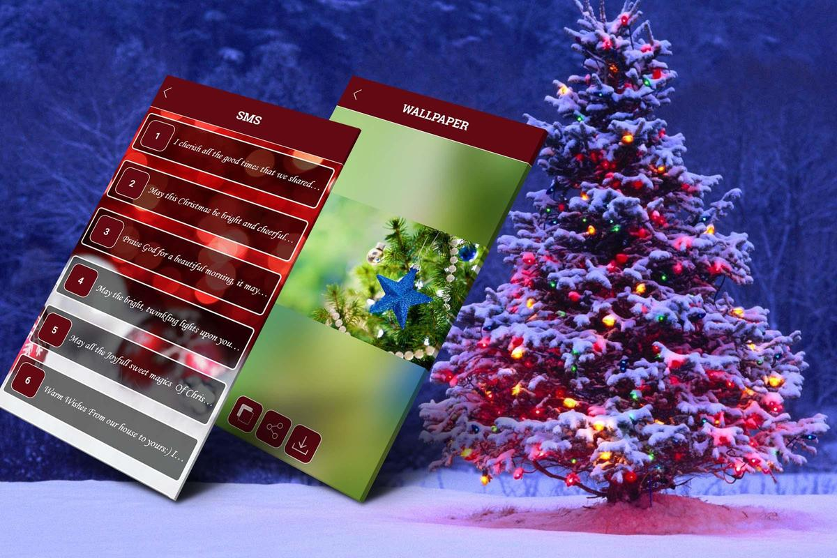Christmas SMS & Wallpaper (Xmas) for Android - APK Download
