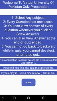 VU Quiz Exam Preparation screenshot 7