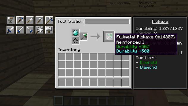 Tinker Constuct mod for MCPE apk screenshot