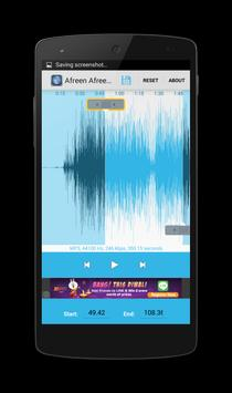 Cutter MP3 and Ringtone screenshot 2