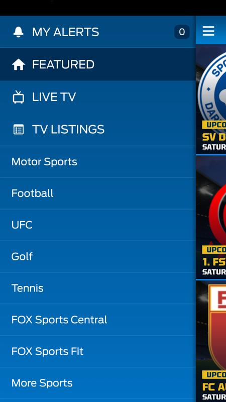 FOX Sports Play APK Baixar - Grátis Esportes Aplicativo para Android   APKPure.com