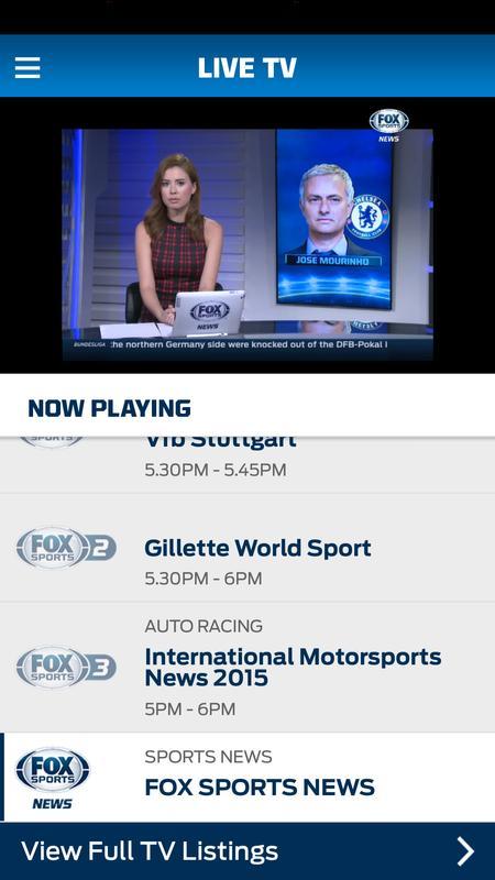 FOX Sports Play APK Baixar - Grátis Esportes Aplicativo para Android | APKPure.com