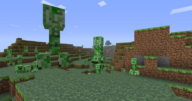 Giants Zombie Mod for MCPE poster