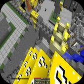 Lucky Gold Block Mod for MCPE icon