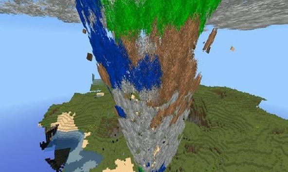 Tornado mod for MCPE apk screenshot