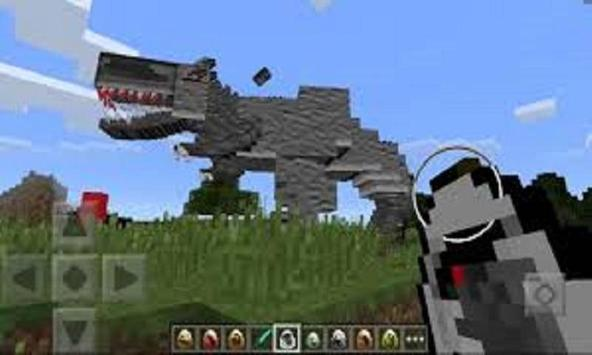 Jurassic Pocket Mod for MCPE screenshot 1