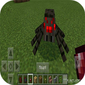 Mountable Spider Mod for MCPE icon
