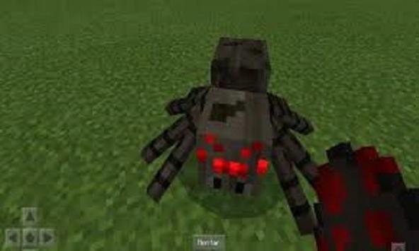 Mountable Spider Mod for MCPE screenshot 2