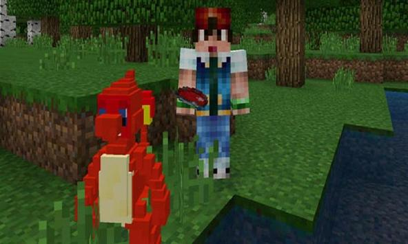 Pokecraft mod for MCPE screenshot 1