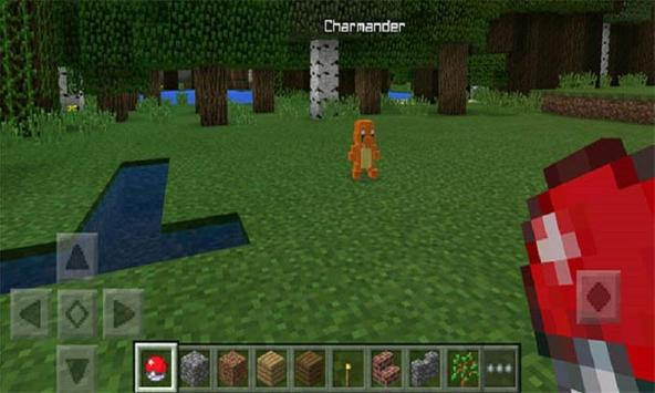 Pokecraft mod for MCPE screenshot 2