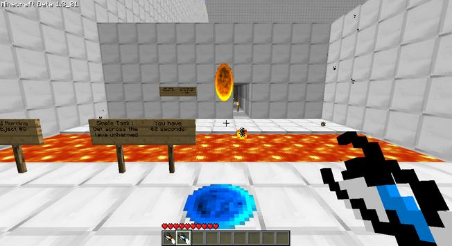 Portal Gun 2 mod for MCPE apk screenshot