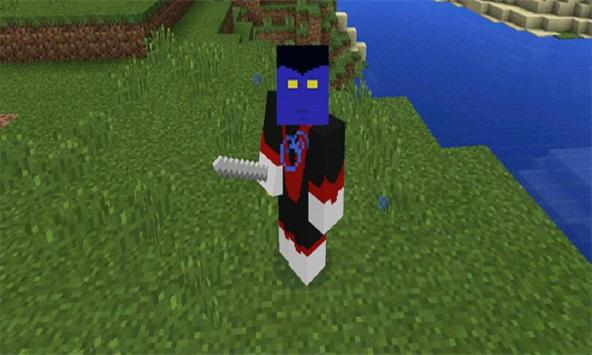 Project superhero mod for MCPE poster