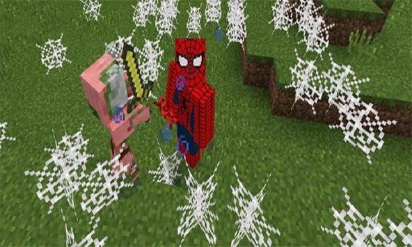 Project superhero mod for MCPE screenshot 1