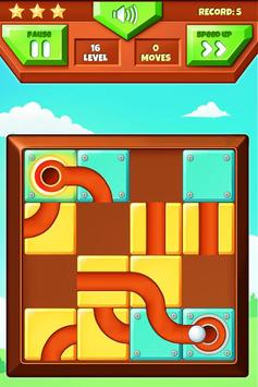 Roll The Ball Puzzle Game poster