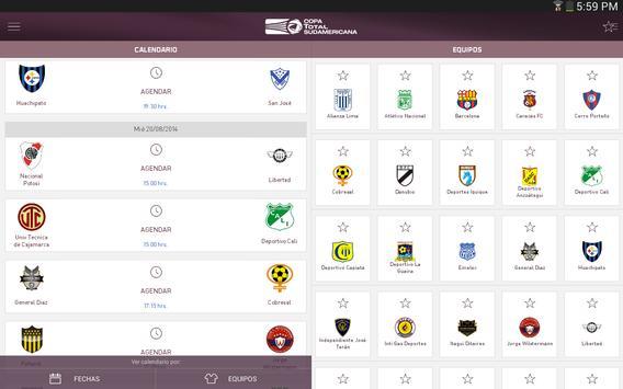Copa TOTAL Sudamericana screenshot 2