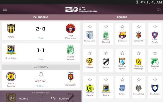 Copa TOTAL Sudamericana screenshot 7