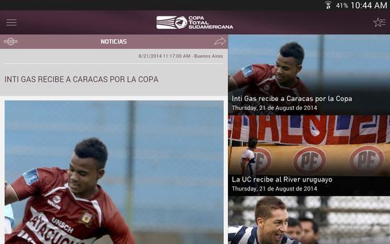 Copa TOTAL Sudamericana screenshot 8