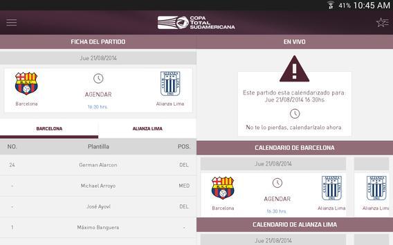 Copa TOTAL Sudamericana screenshot 9