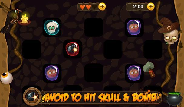 Halloween pumpkin smash apk screenshot