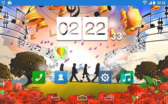 Beatles Abbey Road Rock LWP apk screenshot