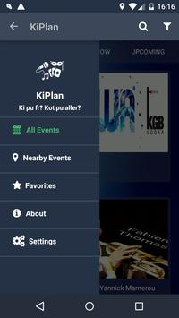 KiPlan-Find events in Mauritius apk screenshot