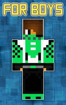 Cool Skins for Minecraft apk screenshot
