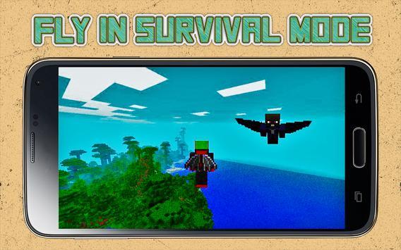 Wings Mod for Minecraft apk screenshot