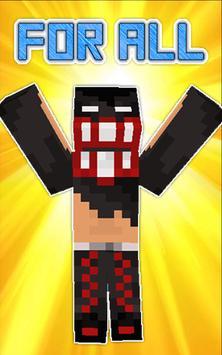 Wrestler Skins for Minecraft apk screenshot
