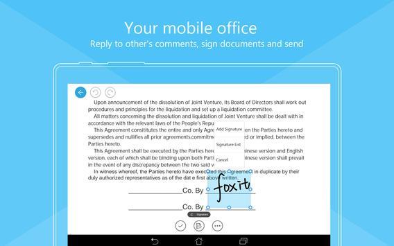 福昕PDF阅读器 - 专业PDF编辑浏览签名工具 截图 11
