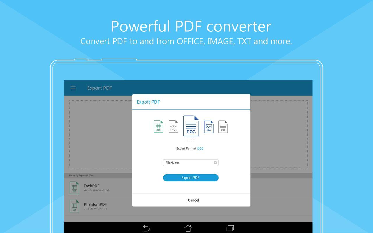 pdf to document converter apk