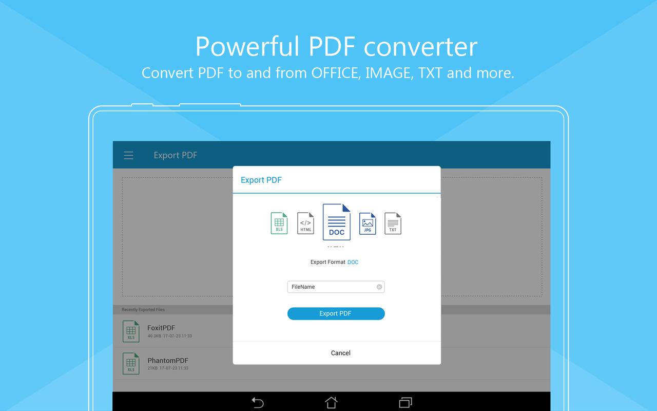 6 best pdf reader apps for android 2018 free download.