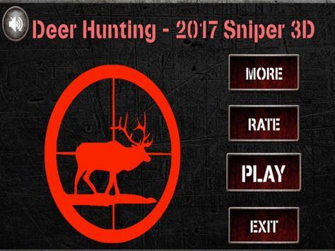 Deer Hunting 2017 : Sniper hunt game screenshot 16