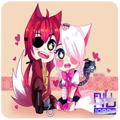 Foxy and Mangle Wallpapers HD icon