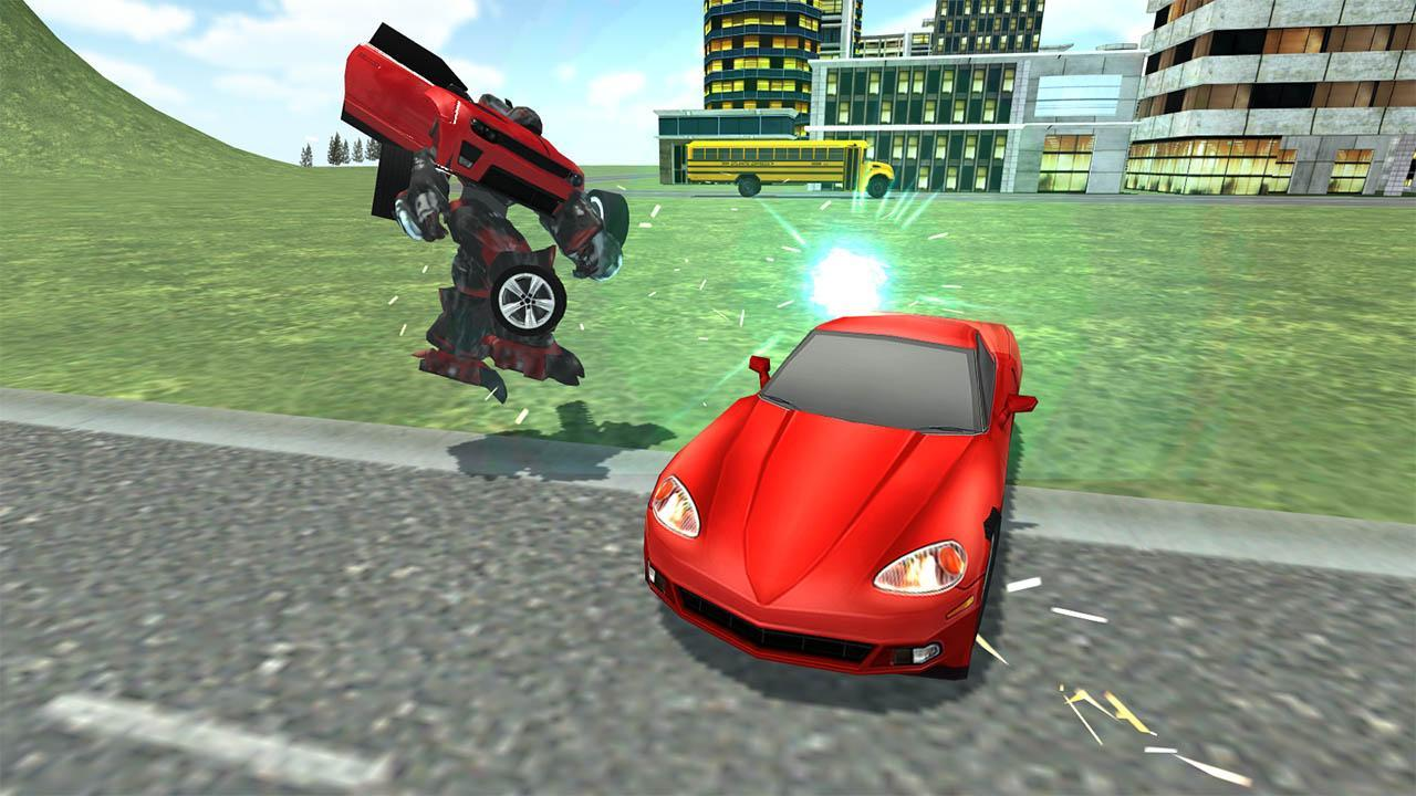 Grand robot car transform 3d game for android apk download.
