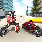 Motorcycle Robot Simulator 3D icon