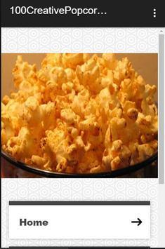 100 Creative Popcorn Recipes poster