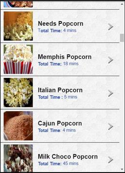 100 Creative Popcorn Recipes screenshot 2