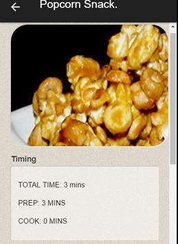 100 Creative Popcorn Recipes screenshot 3