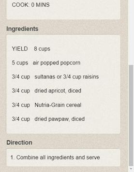 100 Creative Popcorn Recipes apk screenshot