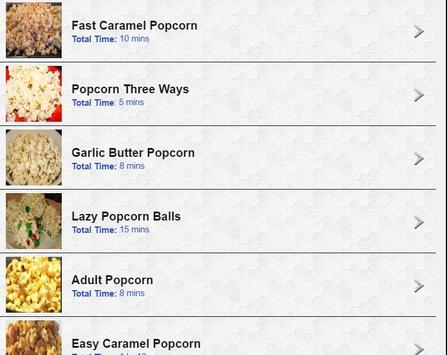 100 Creative Popcorn Recipes screenshot 8