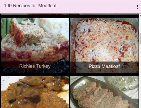 100 Recipes for Meatloaf screenshot 8