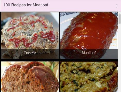 100 Recipes for Meatloaf screenshot 9