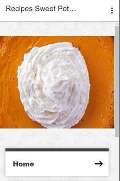 Recipes Sweet Potato Pie poster