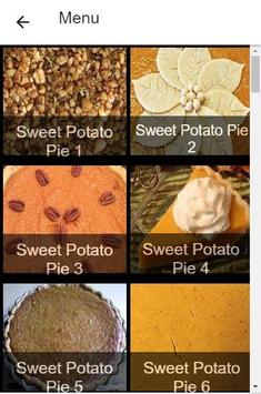 Recipes Sweet Potato Pie screenshot 2