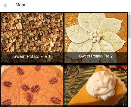 Recipes Sweet Potato Pie screenshot 7